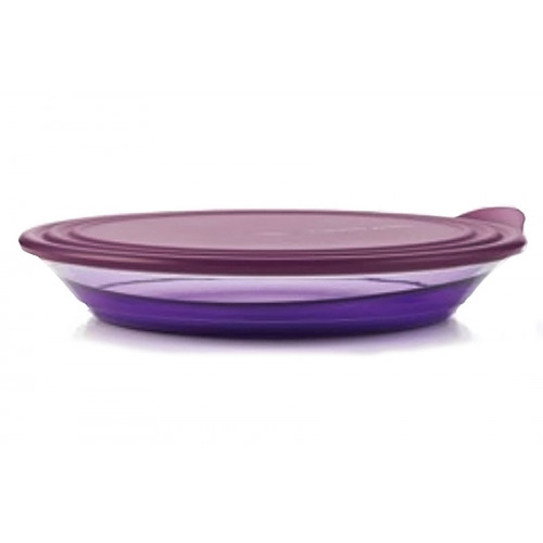 Блюдо Элегантность 1,5 л в фиолетовом цвете
