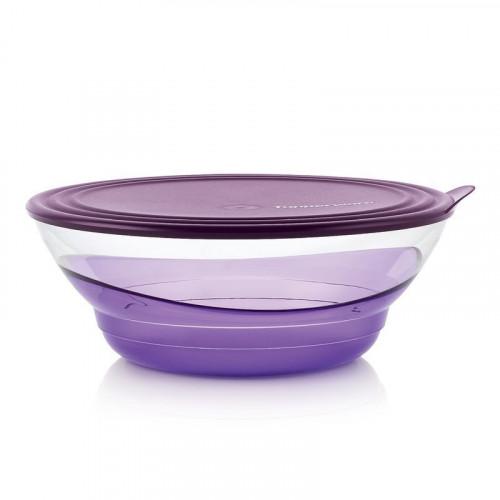 Чаша Элегантность 3,2 л фиолетовая