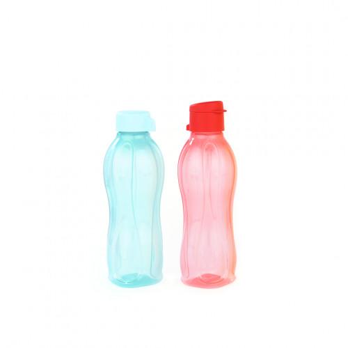 Набор Эко-бутылок 500 мл с клапаном и винтовой крышкой