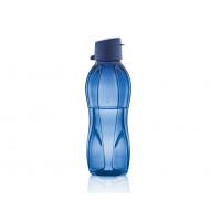 Эко-бутылка 500 мл в синем цвете с клапаном