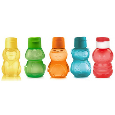 Набор эко-бутылок 350 мл, 5 шт.