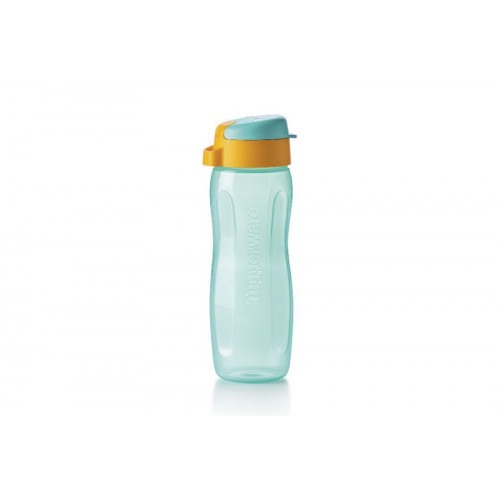 Эко-бутылка Стиль 500 мл с клапаном, бирюзовя
