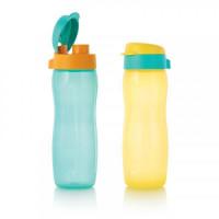 Эко-бутылка Стиль 500 мл с клапаном, 2 шт.