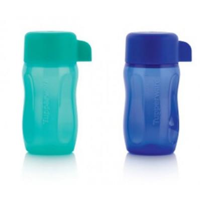 Набор эко-бутылок с винтовой крышкой 90 мл, 2 шт.