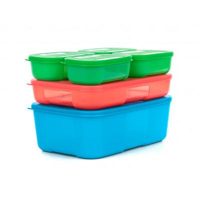 Набор контейнеров Система холодильник (140 мл × 4 / 650 мл / 1,5 л)