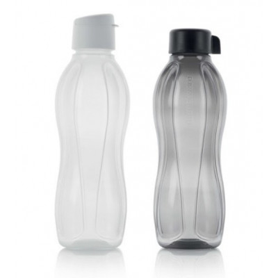 Набор Эко-бутылок 1 л с клапаном и винтовой крышкой