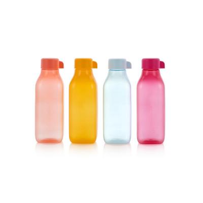 Набор квадратных эко-бутылок 500 мл, 4 шт.