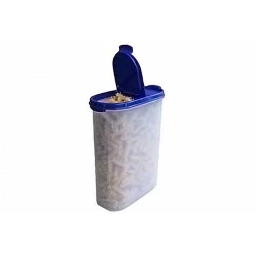 Компактус овальный 2,3 л с крышкой