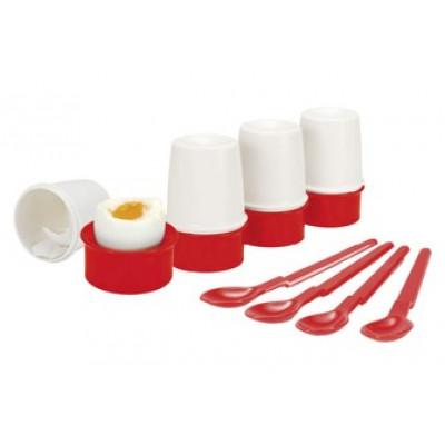Подставка для яиц с ложечкой, 1 шт